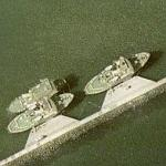 Danish icebreakers (Google Maps)