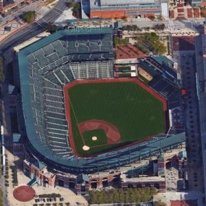 Oriole Park at Camden Yard (Google Maps)