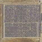 Solar collectors (Google Maps)