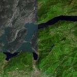 Lake of Lugano (Google Maps)