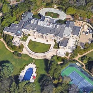 Zhang Jiale's house (site of Walt Disney's last home) (Google Maps)