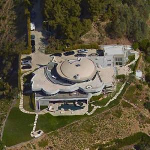 Megan Ellison's House (Google Maps)