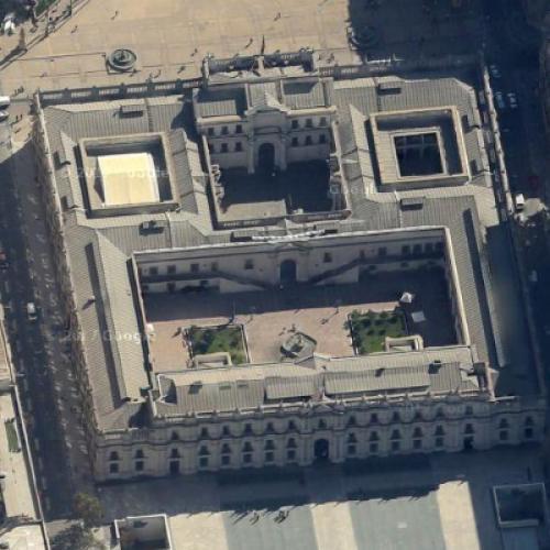 La Moneda Presidential Palace (Google Maps)