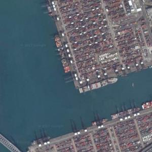 Hong Kong Container Port (Google Maps)