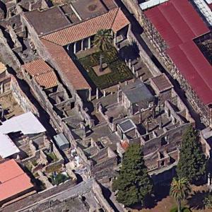 Pompeii - House Of The Faun (Google Maps)