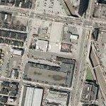 Former site of the Baker Bowl (Google Maps)