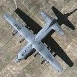 Lockheed C-130E Hercules (Google Maps)