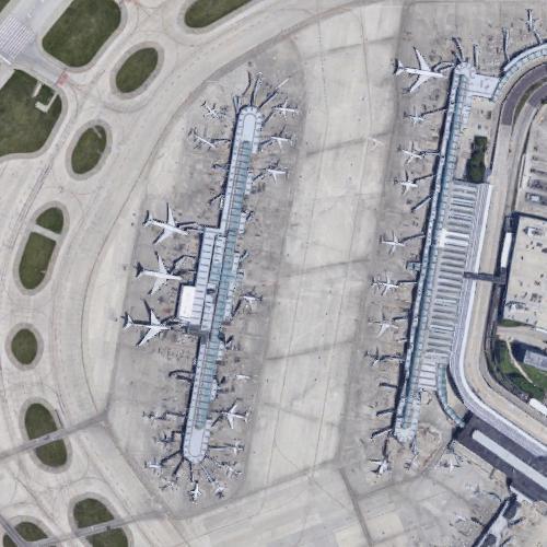 O'Hare International Airport (ORD) (Google Maps)