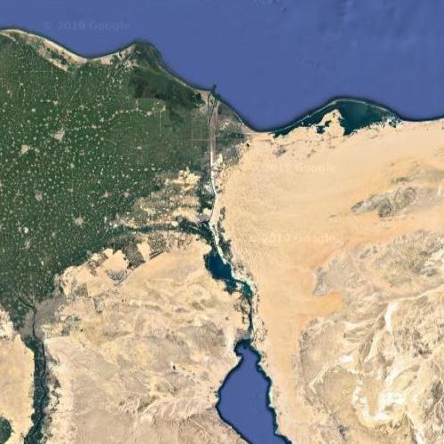 Suez Canal (Google Maps)