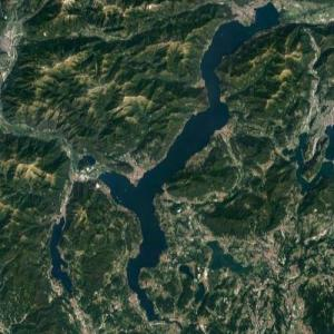 Lake Maggiore (Swiss and Italian Alps) (Google Maps)