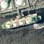 LNG tanker (Google Maps)