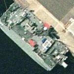 T-AGOS-23 USNS Impeccable Ocean Surveillance Ship (Google Maps)