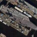 USS Harry S Truman (CVN-75) (Google Maps)