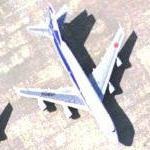 Two All Nippon Airways (ANA) Boeing 747 (Google Maps)