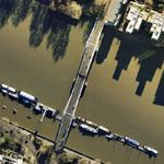 Albert Bridge, River Thames (Google Maps)