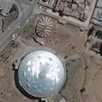 Circus tents (?) in Cuzco (Google Maps)