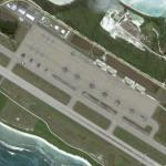 Planes on Diego Garcia Island