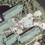 Disney World - Wilderness Lodge Resort (Google Maps)