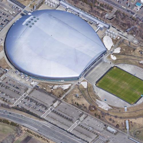 Sapporo Dome (Google Maps)