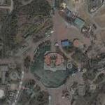 Chinese rip-off of Disney Theme Park (Google Maps)