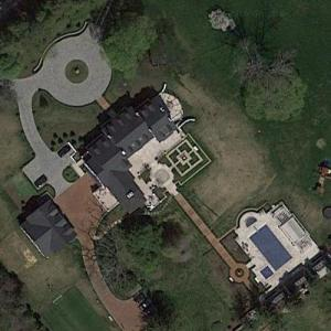 John F. Kennedy's Hickory Hill (Google Maps)