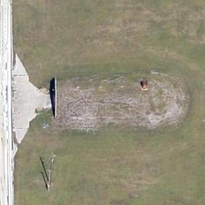 Former Nuclear Weapons Bunkers at Orlando International Airport (Google Maps)