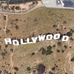 Hollywood Sign (Google Maps)
