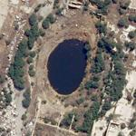 2001-09-21 - AZF explosion crater (Google Maps)