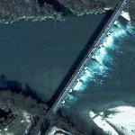 Pollution on Ticino River (Google Maps)