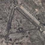 """Rattlesnake Bomber Base""- the old Pyote AAF (Google Maps)"