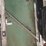 Pier 3 / Pier 4 Pedestrian Bridge (Google Maps)