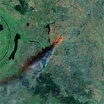 Fire in Sudan