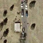 Funeral in progress (Google Maps)