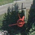 'The Answer' by Mark di Suvero (Google Maps)