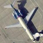 AirTran 'Elton John' Boeing 717 (Google Maps)