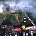 Building on fire (December 02, 2003)