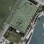 People Playing Basketball (Google Maps)