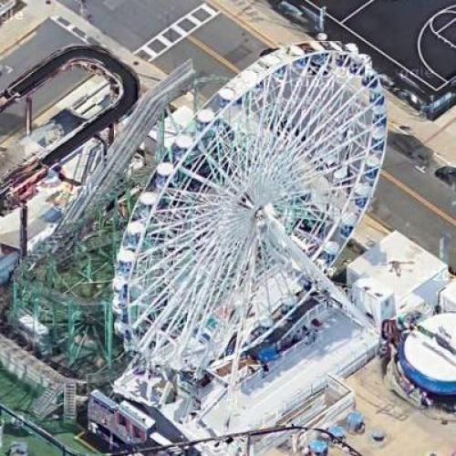Ferris Wheel (Google Maps)