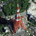 Tokyo Tower (Google Maps)