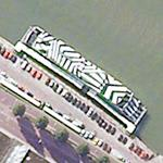 Striped Boat (Google Maps)