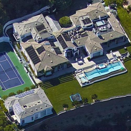 Gwen Stefani & Gavin Rossdale's House In Los Angeles, CA