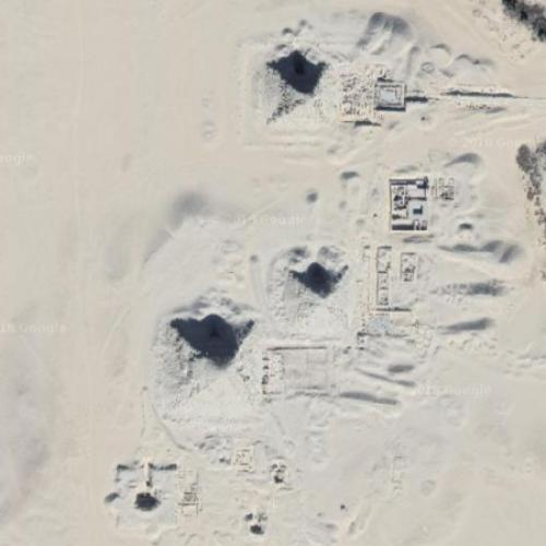 Saqqara pyramids (Google Maps)
