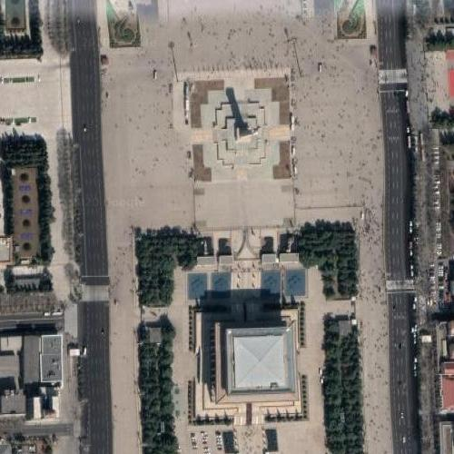 Tiananmen Square (Google Maps)
