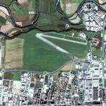 Censored area (Torino-Aeritalia Airport) (Google Maps)