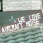 """We love aircraft noise"" (Google Maps)"