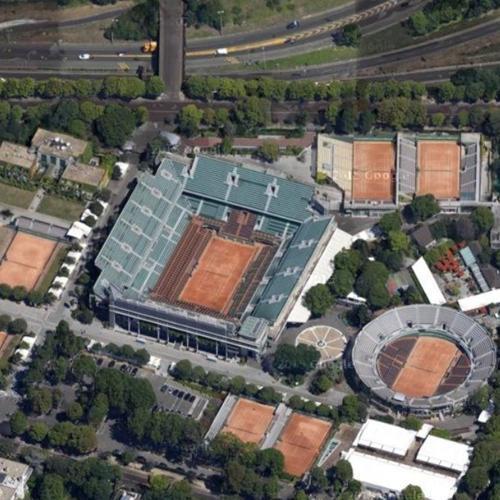 Roland Garros (Google Maps)