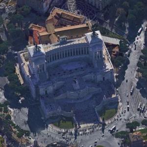 Vittorio Emanuele Monument (Google Maps)