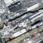 USS Carl Vinson (CVN-70) (Google Maps)