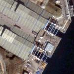 French Submarine Sheds (Google Maps)