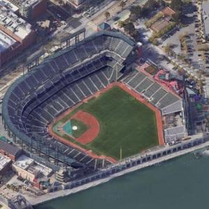 Oracle Park (Google Maps)